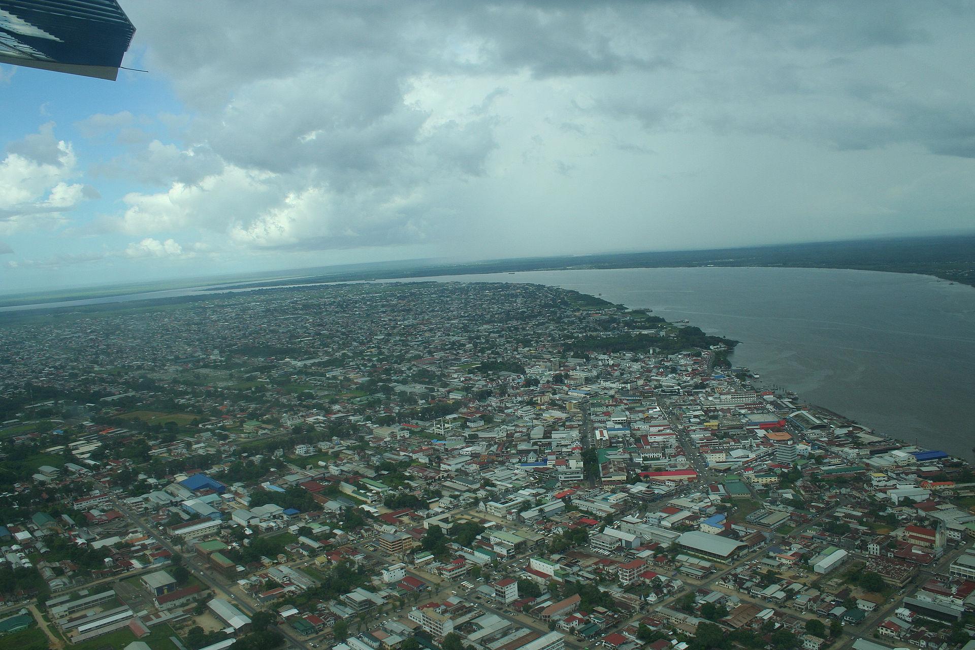 Paramaribo_from_the_air