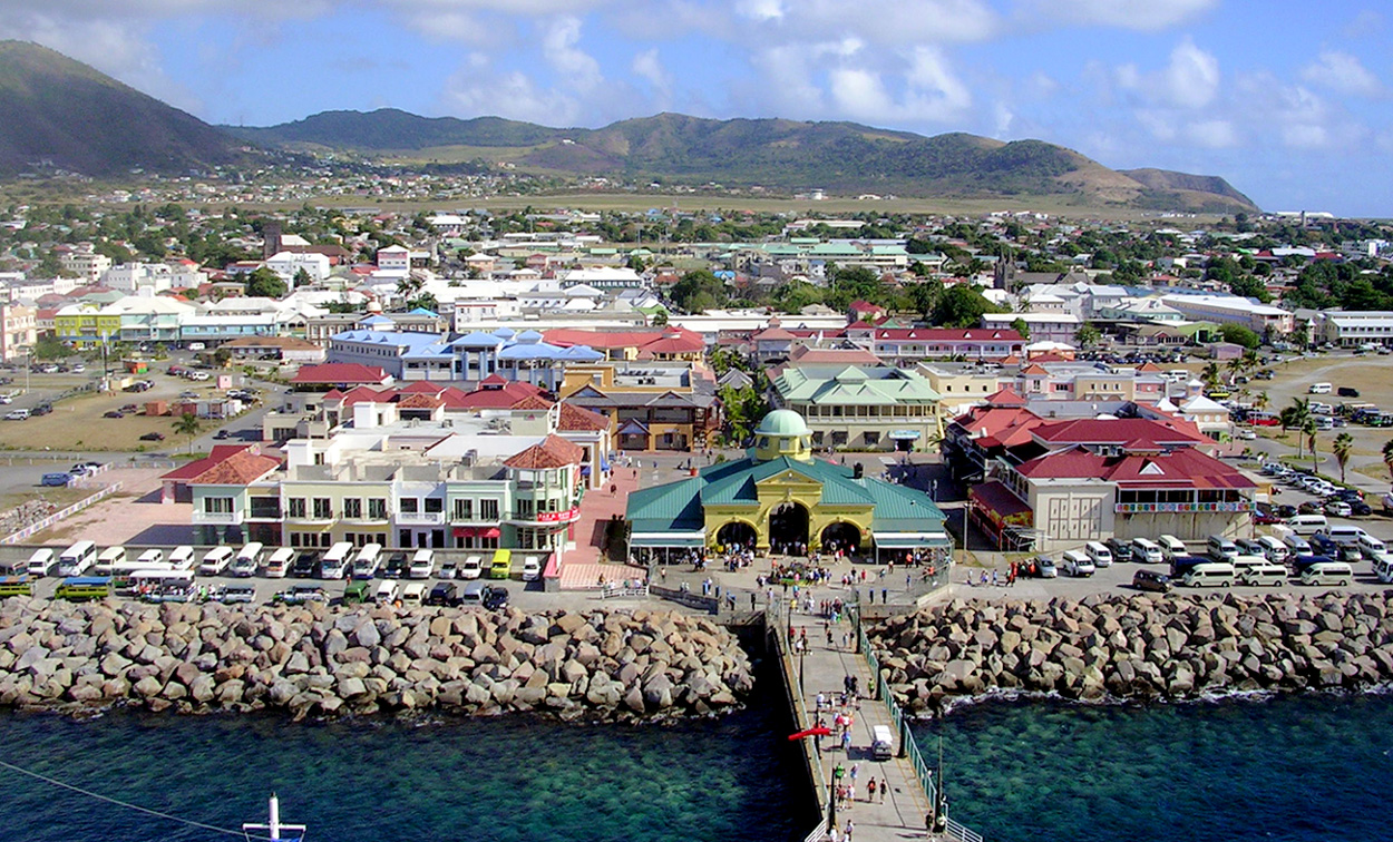 General_view_of_Basseterre,_St._Kitts_from_Ship_(8642159070)