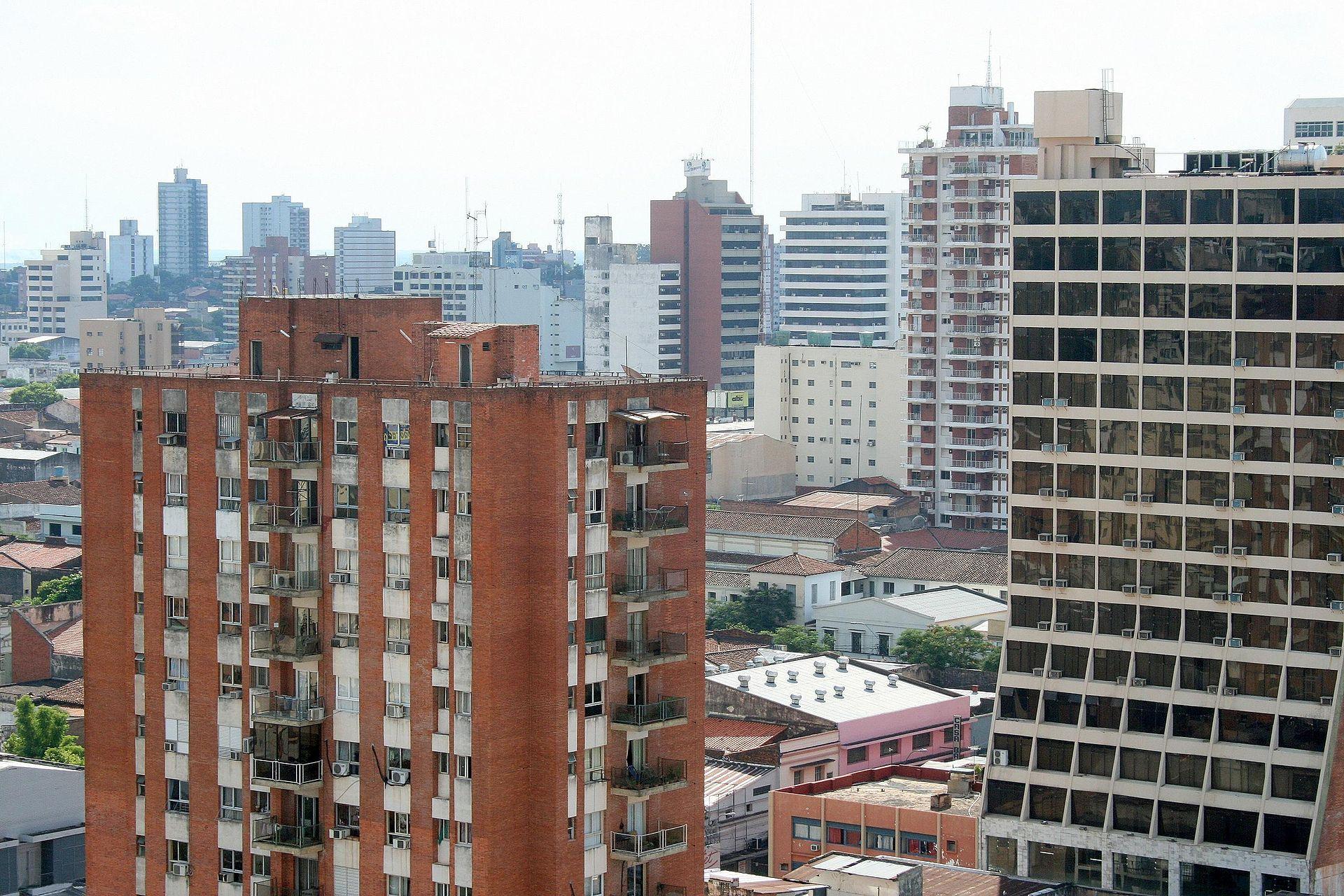 Efificios_en_Asunción_Paraguay